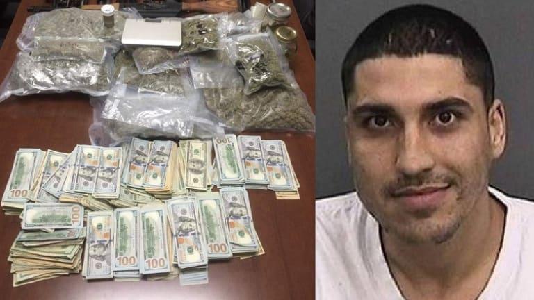 DRUG DEALER KILLED IN HOTEL, $400,000 AND MARIJUANA FOUND