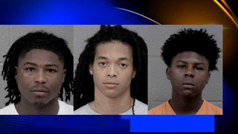 MAN SHOT DURING ROBBERY, 3 SUSPECTS ARRESTED