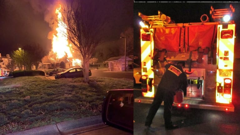 FIRE INTENTIONALLY SET AT APARTMENT COMPLEX