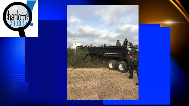 75 ILLEGAL IMMIGRANTS LOADED ONTO DUMP TRUCK DURING SMUGGLING ATTEMPT