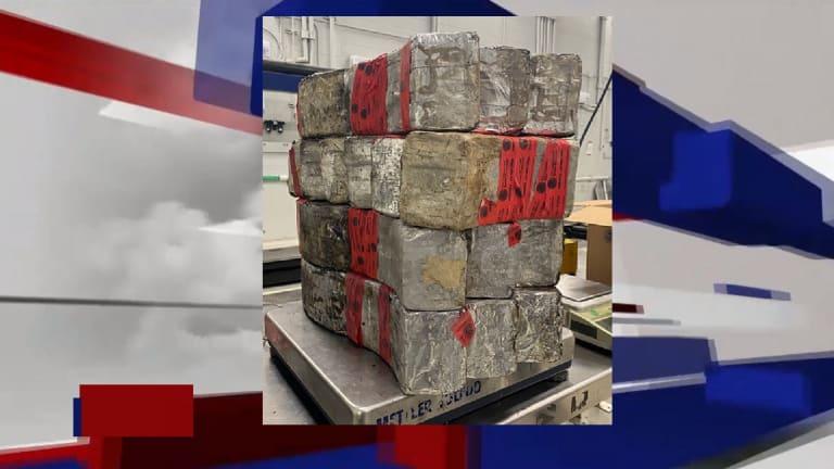 OFFICERS SEIZE METHAMPHETAMINE WORTH OVER $2.6 MILLION