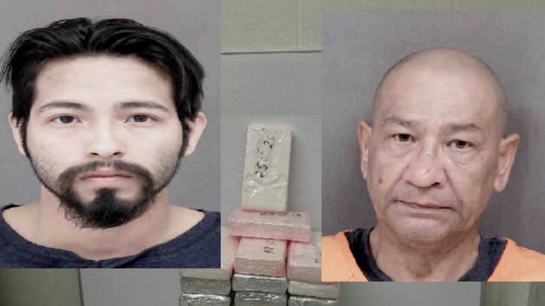 FATHER SON DUO CAUGHT WITH KILOS OF HEROIN