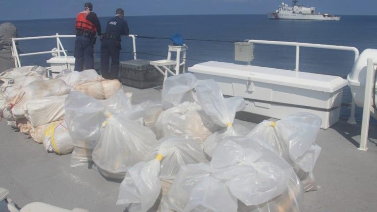 $1.1 MILLION OF MARIJUANA IN MIAMI BEACH UNLOADED BY COAST GUARD