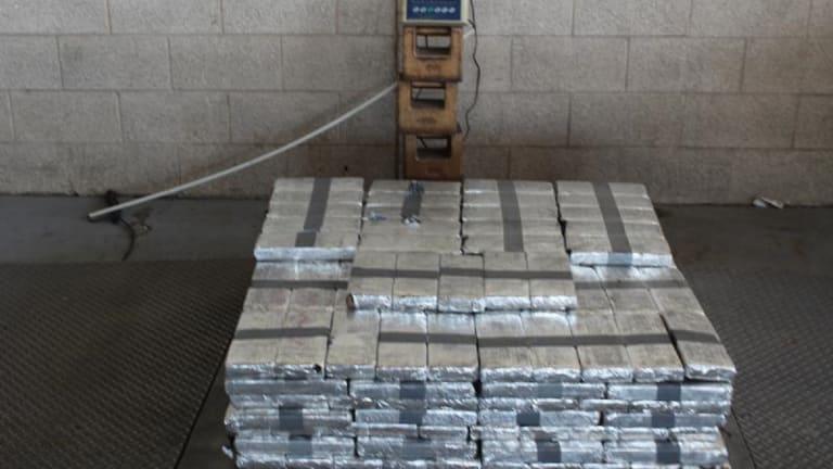 $11.5 MILLION IN METHAMPHETAMINE DISCOVERED AT CARGO FACILITY