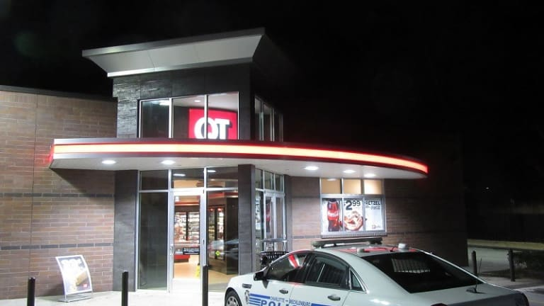 SHOOTOUT ENDS IN QUIK TRIP GAS STATION, STARTED AT McDONALDS