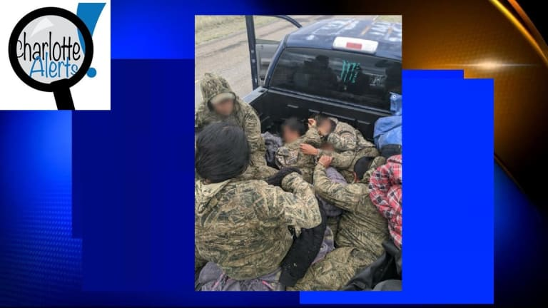 SEVERAL ILLEGAL IMMIGRANTS FOUND SMUGGLED IN BACK OF TRUCK