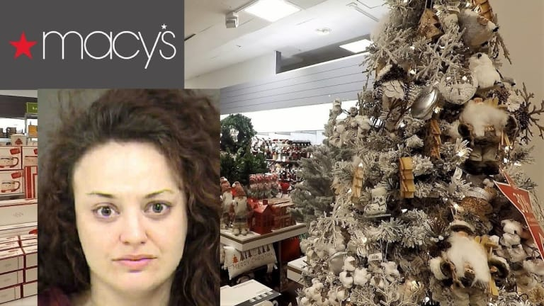 MACYS EMPLOYEE ARRESTED FOR STEALING DURING BUSY CHRISTMAS SEASON