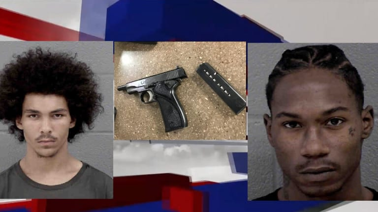 2 ARRESTED AFTER SHOOTOUT ON WEST BOULEVARD IN PARKING LOT OF GAS STATION