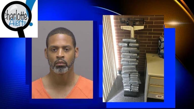 MAN CAUGHT WITH $6.4 MILLION OF FISH SCALE COCAINE NEAR CHARLOTTE
