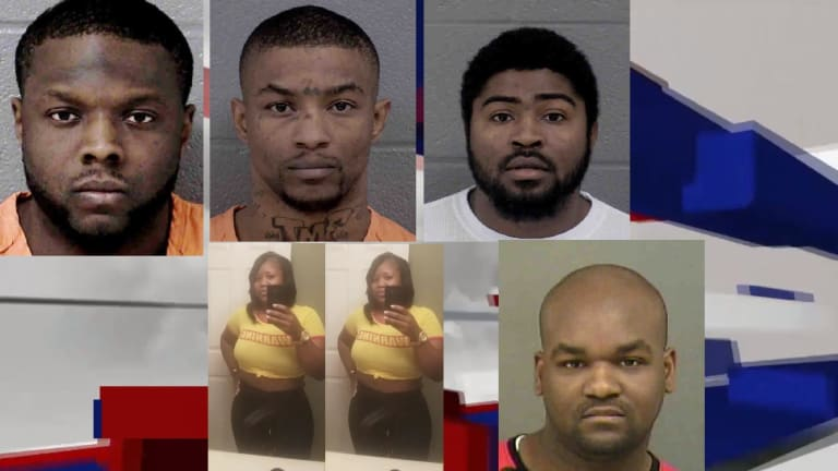 SEVERAL MEN CHARGED IN DOUBLE MURDER