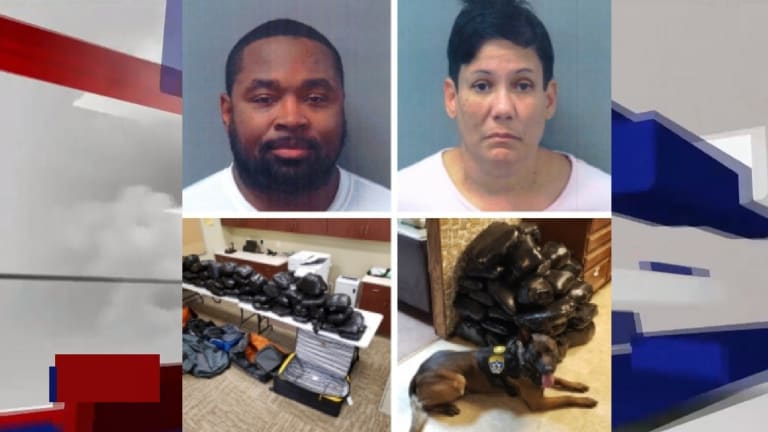 $4.1 MILLION IN METHAMPHETAMINE DISCOVERED DURING TRAFFIC STOP