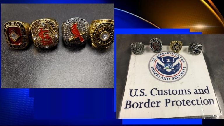 FEDS SEIZE $6 MILLION IN FAKE SUPER BOWL AND MLB WORLD CHAMPIONSHIP RINGS