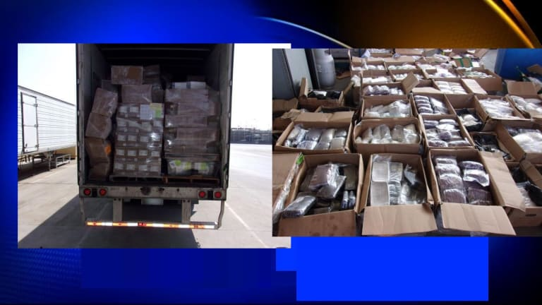 $7.2 MILLION OF METH, HEROIN, AND FENTANYL SEIZED IN SAN DIEGO