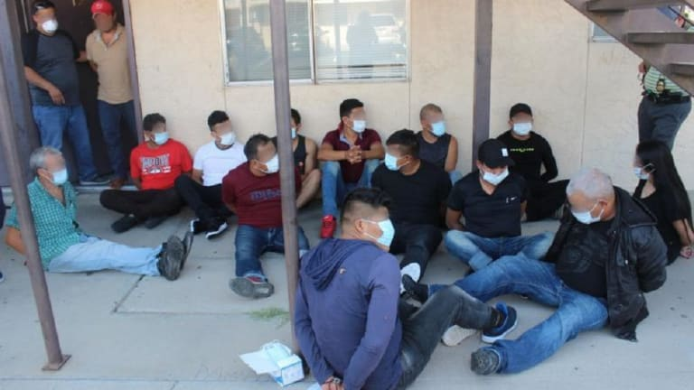 32 UNDOCUMENTED IMMIGRANTS FOUND INSIDE STASH HOUSE