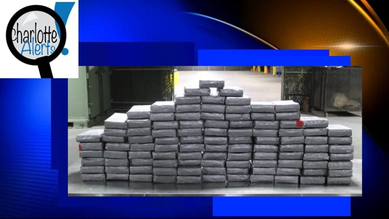 $2 MILLION IN COCAINE INTERCEPTED AT CHECK POINT