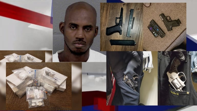 DRUG DEALER BUSTED WITH NEARLY $10,000 CASH ALONG WITH HEROIN, ECSTASY, & GUNS
