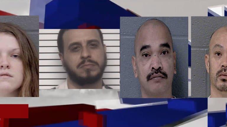 3 SENTENCED TO PRISON FOR METHAMPHETAMINE TRAFFICKING