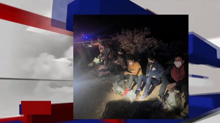 SEDAN PACKED WITH 10 ILLEGAL IMMIGRANTS ATTEMPTS ENTRY INTO THE UNITED STATES