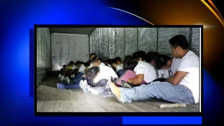 70 ILLEGAL IMMIGRANTS FOUND HIDING IN TRACTOR-TRAILER