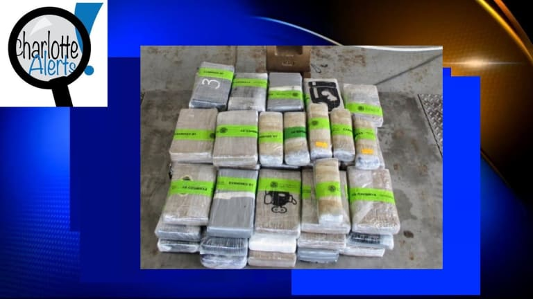 $2 MILLION WORTH OF COCAINE HIDDEN ON COMMERCIAL BUS