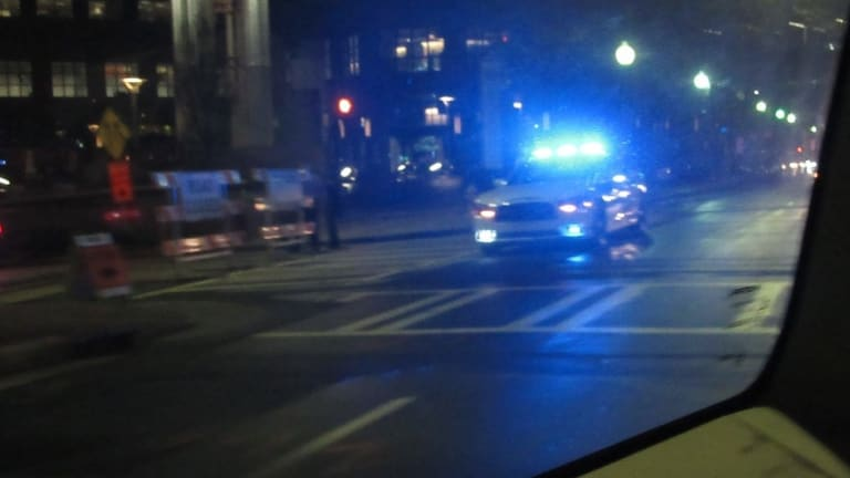 VIDEO: FIREWORKS THROWN AT COPS IN UPTOWN CHARLOTTE