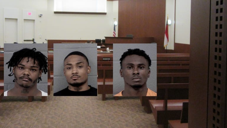 3 BLACK MEN CHARGED WITH SHOOTING 9-YEAR-OLD GIRL