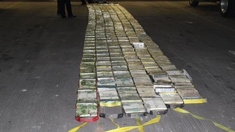 $18 MILLION WORTH OF METHAMPHETAMINE FOUND IN TEXAS