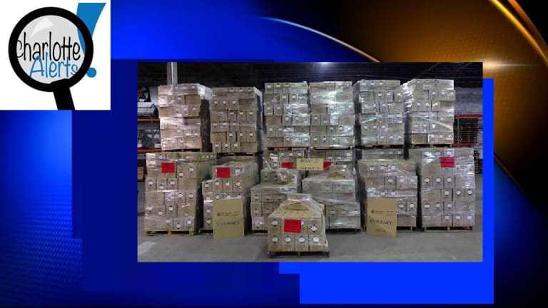 $1.7 MILLION IN FAKE CHRISTIAN DIOR and CHANEL PERFUMES SEIZED AT MIAMI PORT