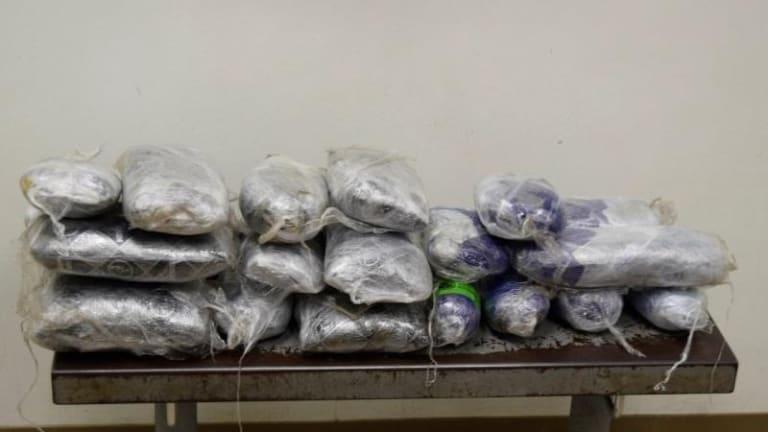 $1.9 MILLION IN DRUGS FOUND IN TEXAS