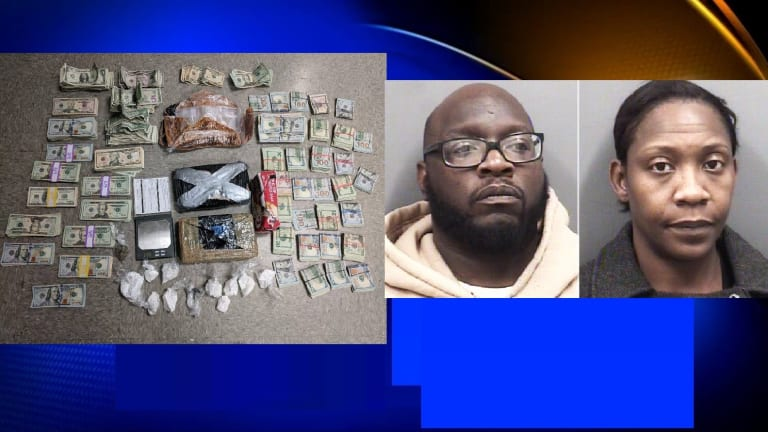 $50,000 IN COCAINE ALONG WITH CASH FOUND IN TRAFFIC STOP