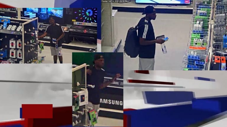 MAN CAUGHT STEALING ELECTRONICS IN TARGET STORE, PUNCHES EMPLOYEE