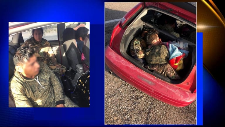 2 WOMEN AND 5 ILLEGAL IMMIGRANTS ARRESTED IN SMUGGLING CASE