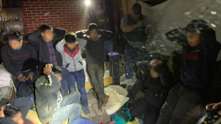 ILLEGAL IMMIGRANT STASH HOUSE NETS 10 ARRESTS