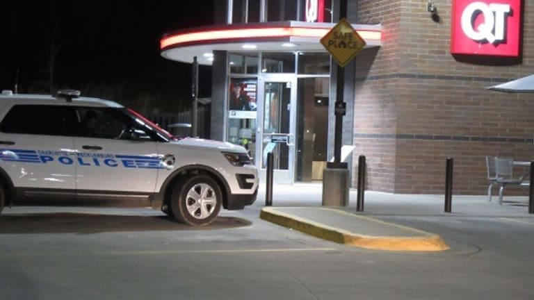QUIK TRIP GAS STATION ROBBED AT GUNPOINT