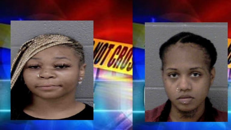 B & K GAS & MORE ROBBED, TWO SUSPECTS ARRESTED