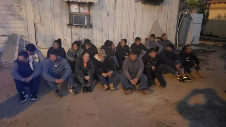 ILLEGAL IMMIGRANT STASH HOUSE SHUT DOWN IN JOINT LAW ENFORCEMENT ACTION