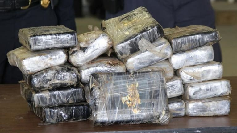 $1 MILLION OF COCAINE FOUND ON FREIGHTER ANCHORED NEAR BALTIMORE