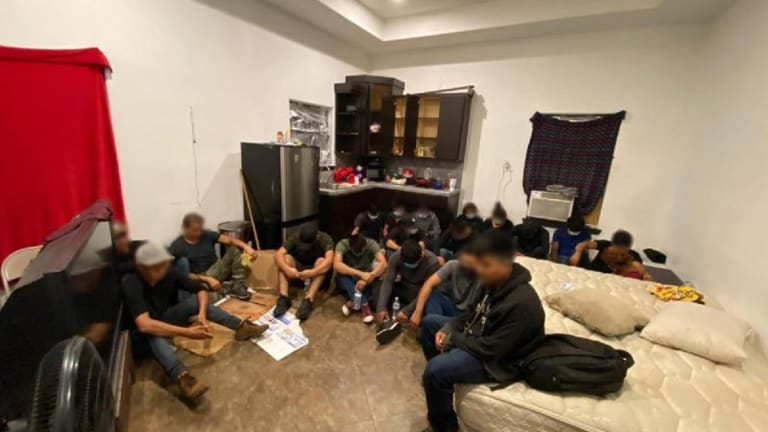 ILLEGAL IMMIGRANT STASH HOUSE GETS SHUT DOWN