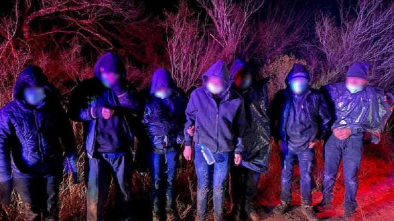 SEVERAL ARRESTED IN FREEZING TEMPERATURES BY BORDER PATROL AGENTS