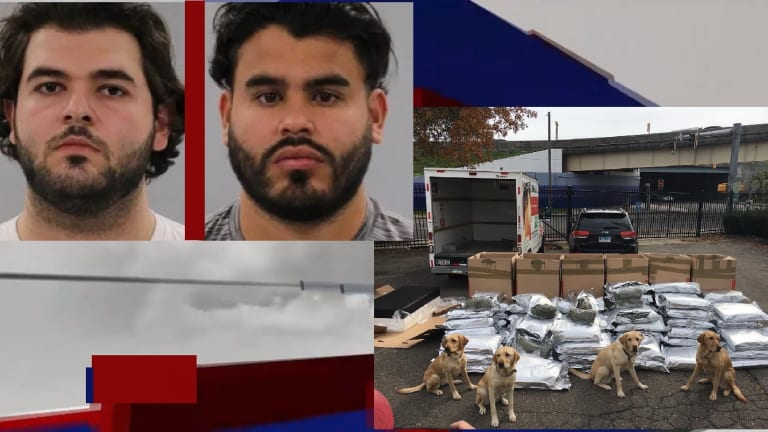MILLIONS IN MARIJUANA FOUND ON U-HAUL TRUCK, POLICE DOGS MADE DISCOVERY
