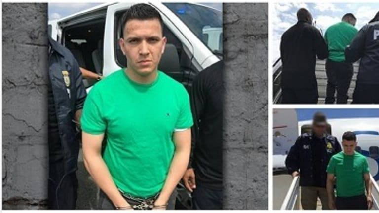 MS-13 GANG MEMBER GETS DEPORTED BY ICE