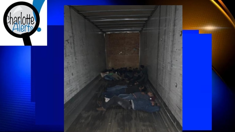 17 ILLEGAL IMMIGRANTS LOCKED IN TRACTOR TRAILER DURING SMUGGLING ATTEMPT