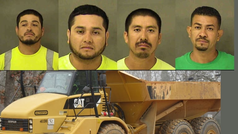 IMMIGRANTS ARRESTED ON CONSTRUCTION SITE WHILE WORKING