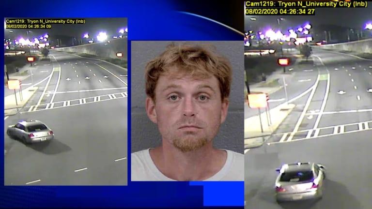 MAN KILLED IN HIT & RUN WRECK NEAR OVERHEAD LIGHT RAIL TRACK