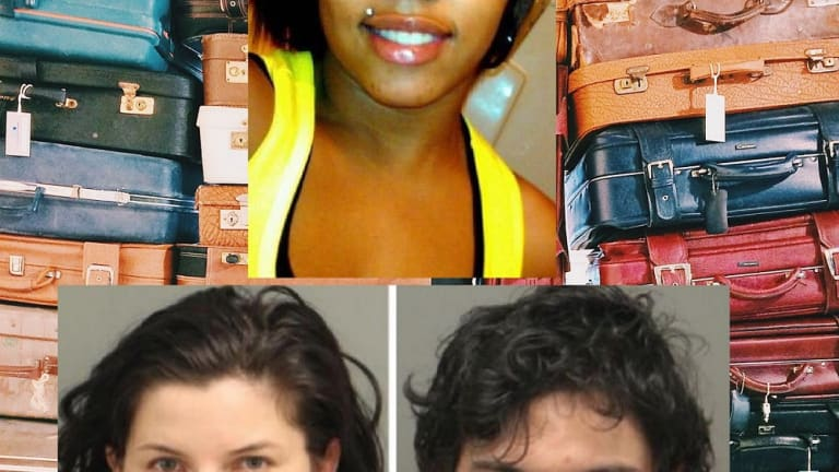 PREGNANT WOMAN FOUND DEAD IN SUITCASE, WAS STRANGLED WITH PHONE CHARGER