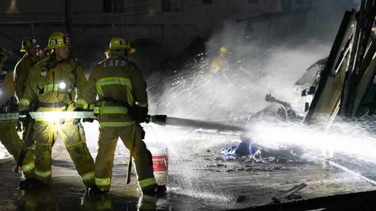 Arlington Heights Carport Arson Fire