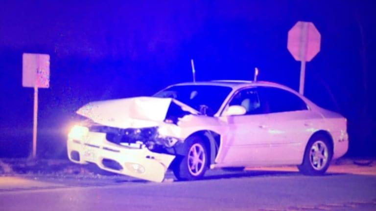 Minor Crash, One Leaves Scene Near Wyandotte Oklahoma