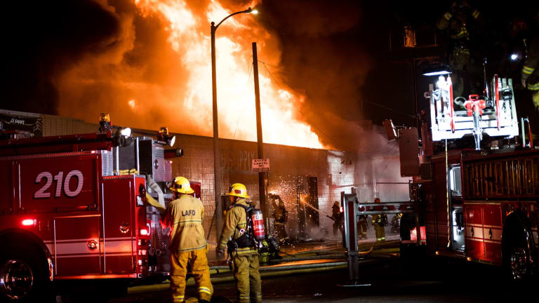 South-Central Commercial Fire