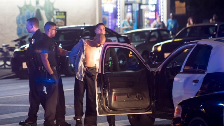 North Hollywood High-Speed Pursuit Ends in Violent Crash in Valley Village