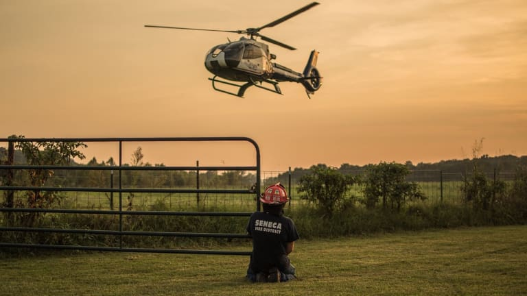 Fire Departments learning LZ